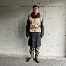 画像4: VINTAGE ITALY製 Wool × Leather Boots (4)
