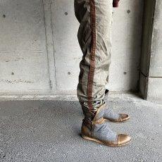 画像5: VINTAGE ITALY製 Wool × Leather Boots (5)