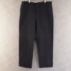 画像1: 50's PEPPERELL WHIPCORD SOLT & PEPPER Trousers W43 DEADSTOCK (1)