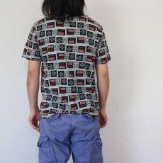 画像4: Nintendo コントローラープリント ゲームTシャツ M (4)