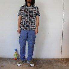 画像5: Nintendo コントローラープリント ゲームTシャツ M (5)