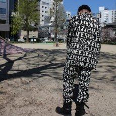 """画像7: Feeet2nd限定 ink """"EMOTION PANTS""""  BLACK 【L】 (7)"""
