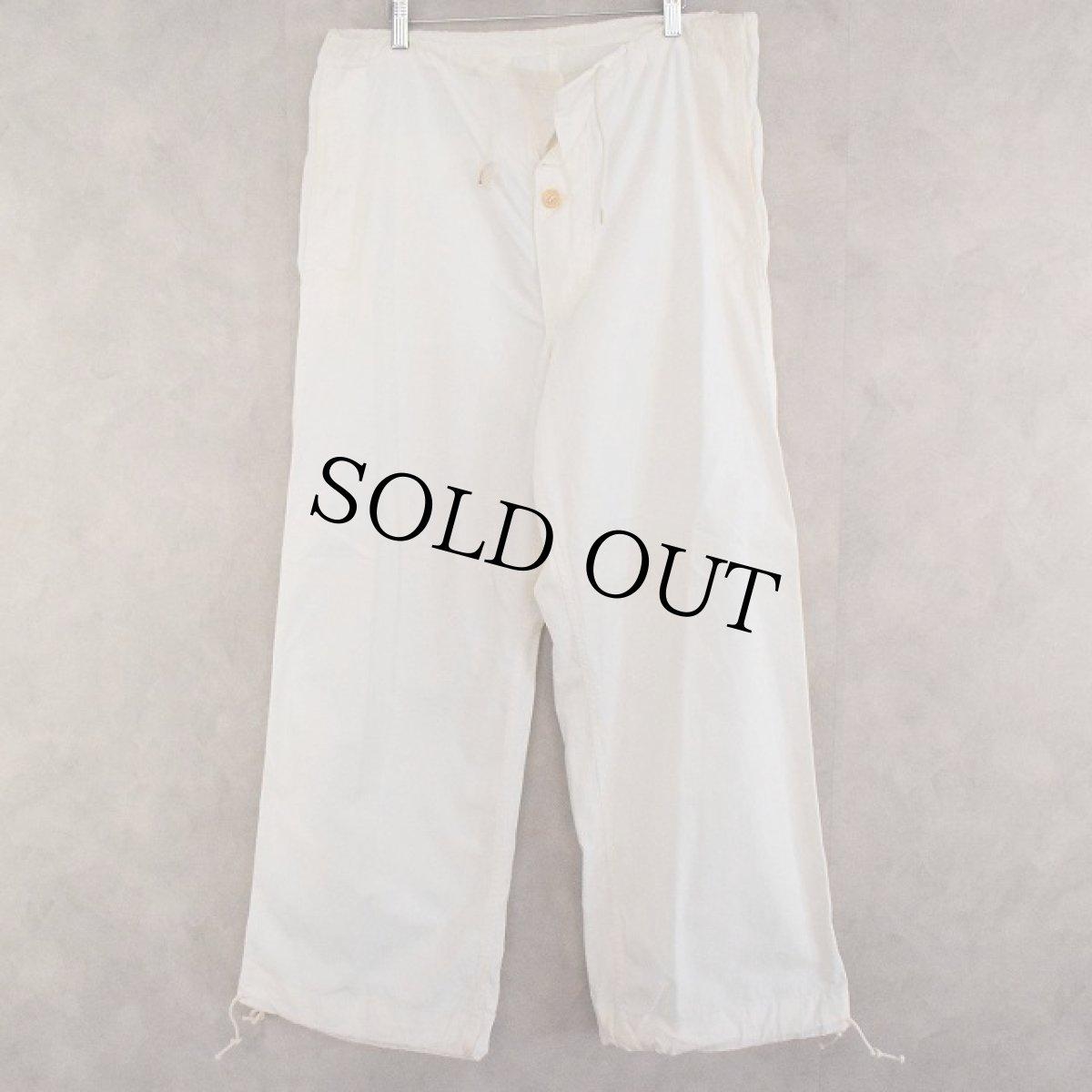 画像1: 40's U.S.ARMY Snow Camo Pants SMALL (1)