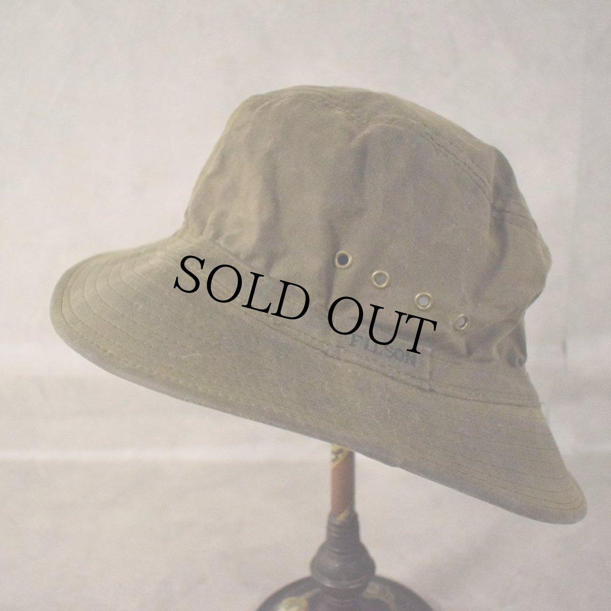 画像1: FILSON USA製 Oiled Hat (1)