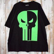 画像1: MARVEL The Punisher スカルプリントTシャツ 3X (1)