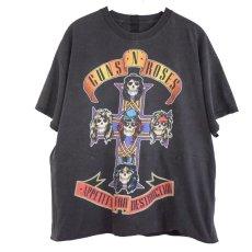 """画像1: UNDRESS """"HURRY"""" T-SHIRTS (Guns N' Roses) 【L】 (1)"""