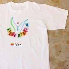 """画像1: 90's Apple """"APPLE MAGIC '95"""" プリントTシャツ DEADSTOCK (1)"""
