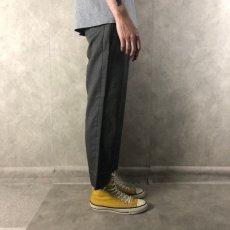 画像3: 織り柄 ストレートスラックス W28 (3)