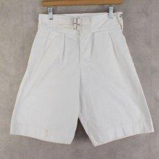画像1: 40's Royal Navy Gurkha Shorts? W25-31 (1)