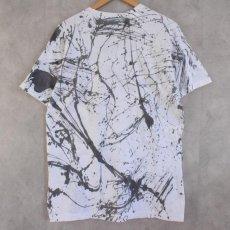 画像2: ●【SALE】 80's USA製 Hand painted T-shirt XL (2)
