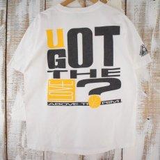 画像1: ● 【SALE】 90's Reebok USA製 Above the Rim プリントTシャツ L (1)