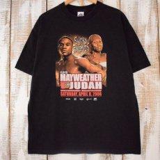 画像1: 2006 FLOYD MAYWEATHER vs ZAB JUDAH ボクシングTシャツ XL (1)