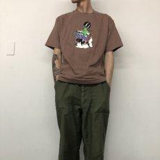 画像5: 90's COOP USA製 デビル エロイラストTシャツ (5)