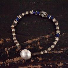 """画像1: RORAN """"Antique Grass Beads×Old Silver"""" ブレスレット (1)"""
