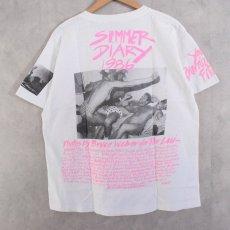 """画像2: 80's BRUCE WEBER """"SUMMER DIARY 1986 PER LUI"""" T-shirts (2)"""