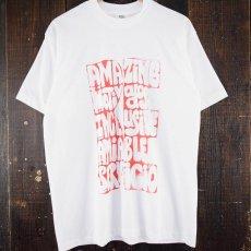 """画像1: ●【SALE】 90's """"BE"""" USA製 メッセージプリントTシャツ XL (1)"""
