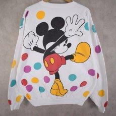 """画像2:  90's MICKEY&CO.  """"Mickey Mouse"""" キャラクタープリントスウェット (2)"""