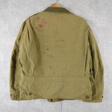 画像2: 40's U.S.ARMY M-41 Field Jacket (2)