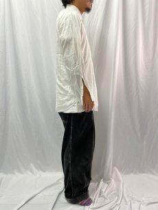 画像3: 50's〜60's ARROW USA製 マチ付き コットンシャツ  (3)