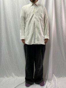 画像2: 50's〜60's ARROW USA製 マチ付き コットンシャツ  (2)