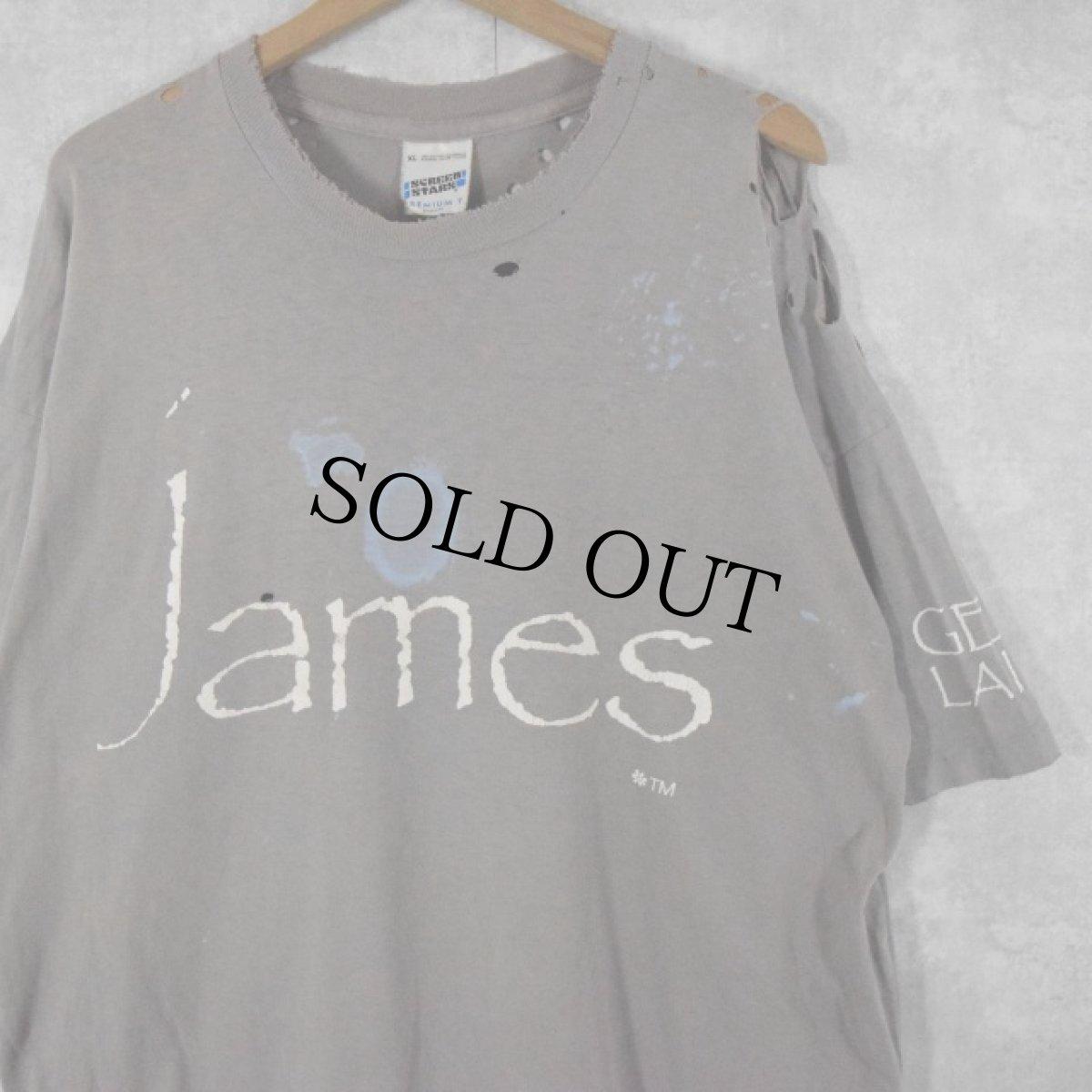 """画像1: 90's james アイルランド製 """"GET LAID"""" バンドTシャツ XL (1)"""