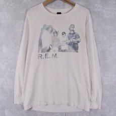 画像1: 80's〜90's R.E.M. オルタナティブバンドロンT (1)