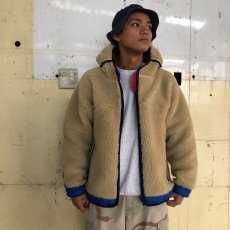 "画像4: COMFY OUTDOOR GARMENT ""RABBIT HOODIE"" BEIGE×BLUE 【L】 (4)"