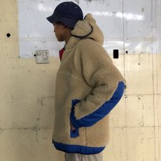 "画像5: COMFY OUTDOOR GARMENT ""RABBIT HOODIE"" BEIGE×BLUE 【L】 (5)"