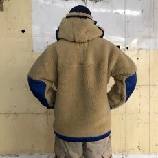 "画像6: COMFY OUTDOOR GARMENT ""RABBIT HOODIE"" BEIGE×BLUE 【L】 (6)"