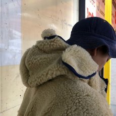 "画像15: COMFY OUTDOOR GARMENT ""RABBIT HOODIE"" BEIGE×BLUE 【L】 (15)"