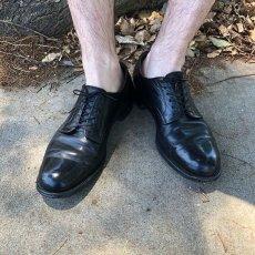 画像2: 60's U.S. NAVY Service Shoes size 9 (2)