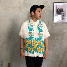 画像2: 40's Duke Kahanamoku chrysanthemum(菊) Hawaiian shirts (2)