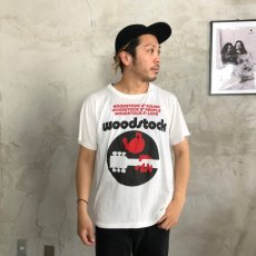 画像2: 80〜90's WOODSTOCK CANADA製 Music T-shirt XL (2)