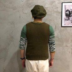 画像5: 40's AMERICAN RED CROSS Wool Knit Vest (5)