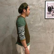 画像4: 40's AMERICAN RED CROSS Wool Knit Vest (4)