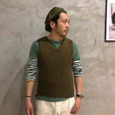 画像3: 40's AMERICAN RED CROSS Wool Knit Vest (3)