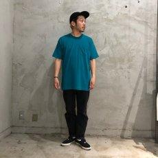 画像5: 80's FRUIT OF THE LOOM USA製 無地ポケットTシャツ XXXL (5)