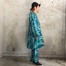 画像3: タイダイ柄 刺繍プルオーバーシャツ&パンツ SETUP (3)