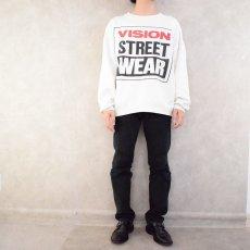 画像5: 80's VISION STREET WEAR スケートブランド ポケ付きスウェット (5)