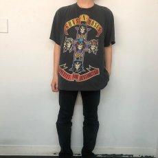 """画像10: UNDRESS """"HURRY"""" T-SHIRTS (Guns N' Roses) 【L】 (10)"""
