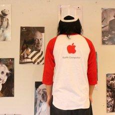 画像4: 80's Apple USA製 ピカソデザイン ラグランTシャツ L (4)