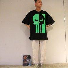 画像5: MARVEL The Punisher スカルプリントTシャツ 3X (5)