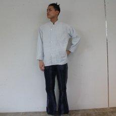 画像5: 30〜40's Glover's BRIGHTON CARLSBAD Stripe Cotton Pajamas Shirt (5)
