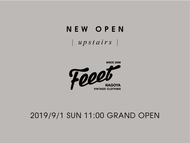 Feeet upstairs - NEW OPEN