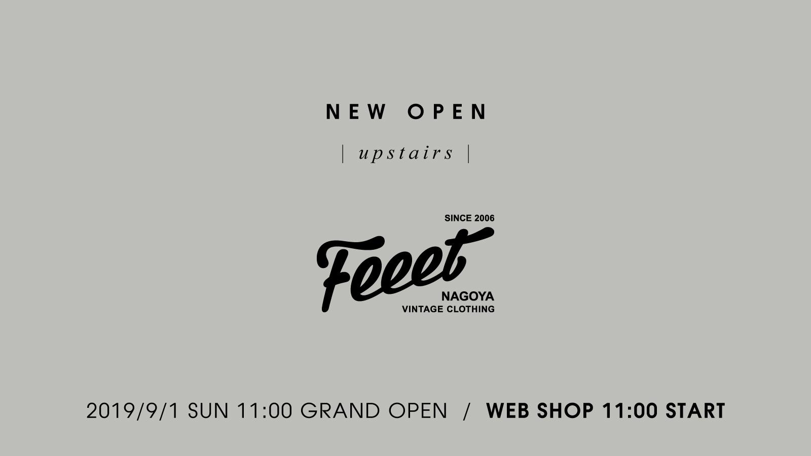 Feeet - upstairs - NEW OPEN20190901