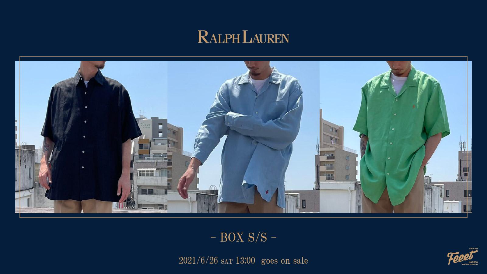 RALPH LAUREN BOX S/S2021