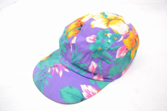 画像1: 【価格を見直しました】  花柄CAP (1)