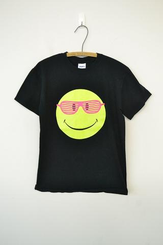 画像1: 【価格を見直しました】  スマイルプリントTシャツ (1)