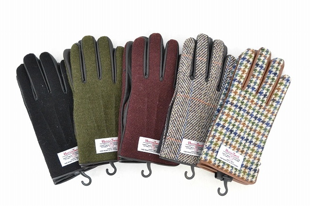画像1: 【50%OFF】 Harris Tweed GLOVE (1)