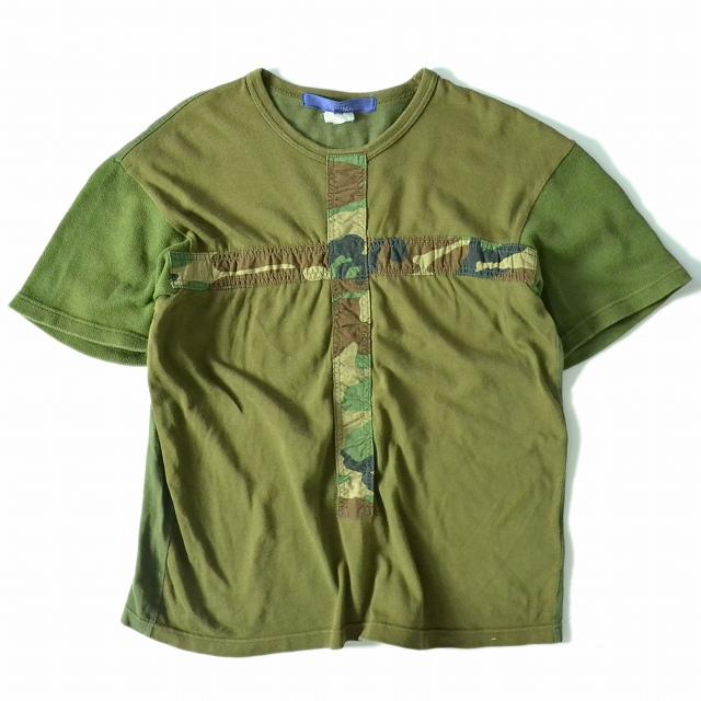 画像1: COMME des GARCONS 切り替えTシャツ (1)